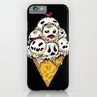 iPhone & iPod Case featuring I Scream on Friday the 13th by Terry Mack