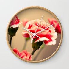 Carnation Wall Clock