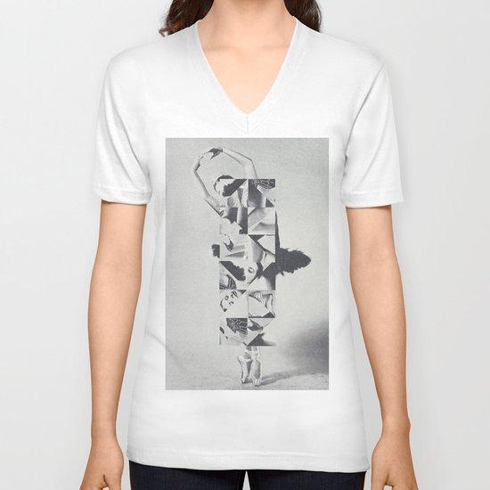 Diamond Dancer V-neck T-shirt