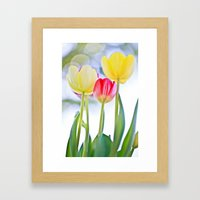 Cheerful Thoughts Framed Art Print