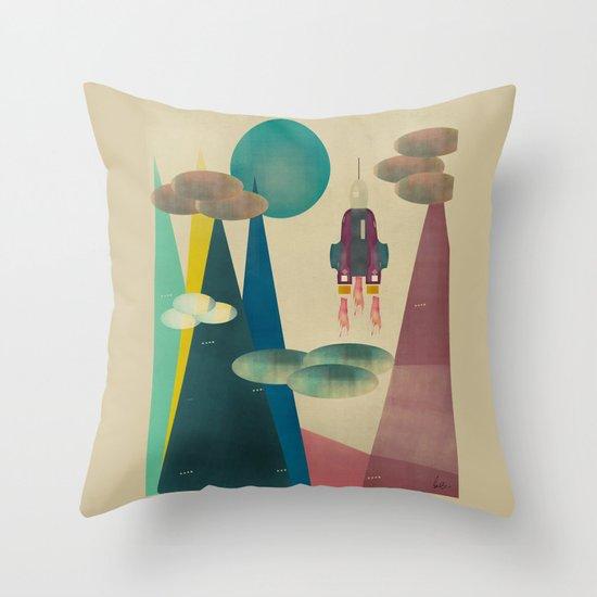 life on mars Throw Pillow