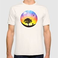 When The Stars Were Shin… Mens Fitted Tee Natural SMALL
