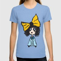 Void Womens Fitted Tee Tri-Blue SMALL