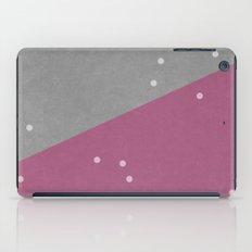 Concrete & Dots iPad Case