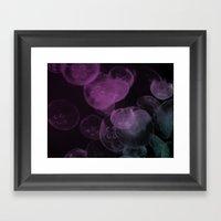Floating (dark) Framed Art Print