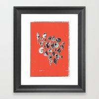 Shells Framed Art Print