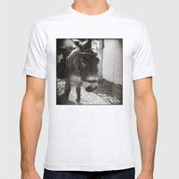 { Cobblestone Trooper } Mens Fitted Tee Ash Grey SMALL