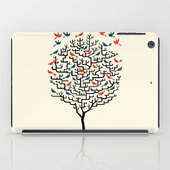 Out On a Lark iPad Case