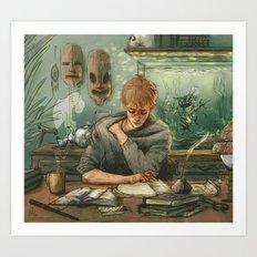 Professor Art Print