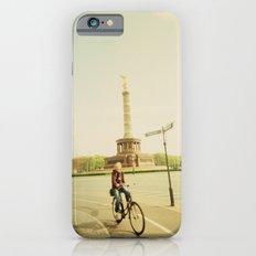 Woman on Bicycle in Berlin iPhone 6 Slim Case