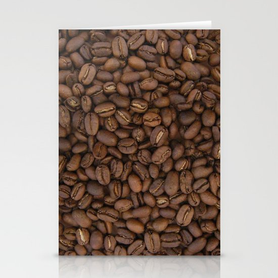 Coffee Beans Stationery Card