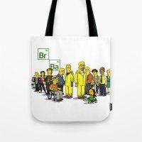 Breaking Bad cast Tote Bag