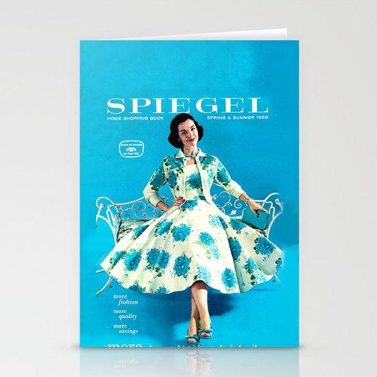 1958 Spring/Summer Spiegel Catalog Stationery Card