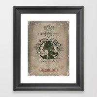 Legend Of Zelda Link The… Framed Art Print
