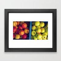 An Apple A Day. Framed Art Print