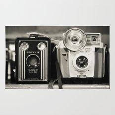 A pair of Kodak Brownies  Rug