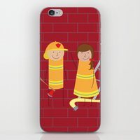 Firefighters iPhone & iPod Skin