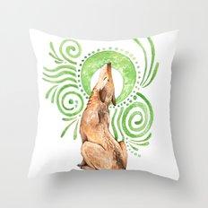 Earth Song Throw Pillow
