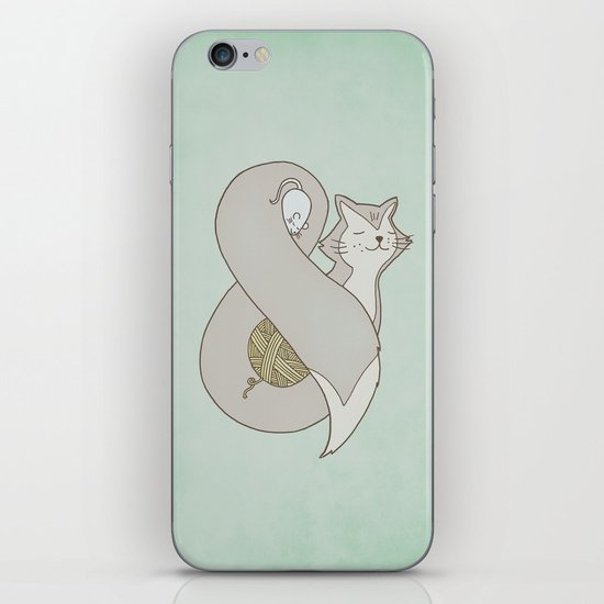 Catpersand iPhone & iPod Skin