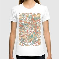 Schema 19 Womens Fitted Tee White SMALL