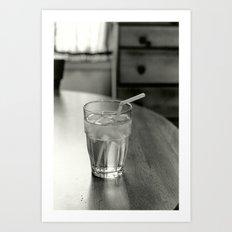 Cup of Water Art Print
