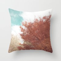 Beautiful Day in Autumn Throw Pillow