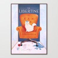 Libertine Canvas Print