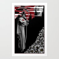 doctor Art Prints featuring DOCTOR by BLEEDINGHEART