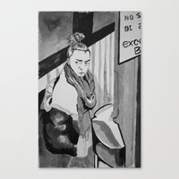 No Stopping Canvas Print