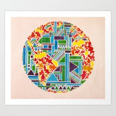 And then, there was Earth. Art Print