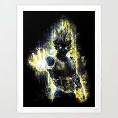 The Prince of all fighters Art Print