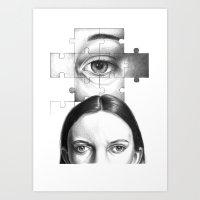 Ti Guardo E Mi Vedo In T… Art Print