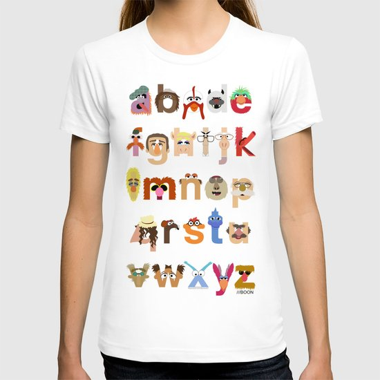 The Great Muppet Alphabet (the sequel) T-shirt