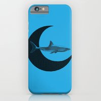 iPhone & iPod Case featuring Shark Side of the Moon by TCarver