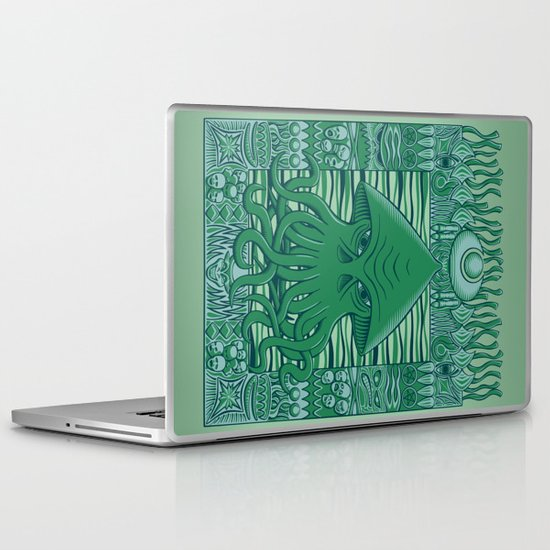 Dreamer in the Deep Laptop & iPad Skin