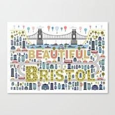 Beautiful Bristol Canvas Print