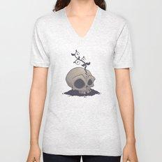 Skull Garden Unisex V-Neck