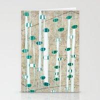 Birch Grass Stationery Cards