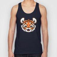 Tiger Unisex Tank Top