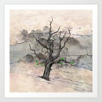 Jake's Tree Art Print