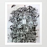Waiting Home Art Print