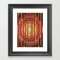 Hidden Sun Framed Art Print