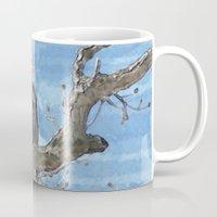 Watercolor Bald Eagle Mug