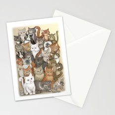 1000 cats Stationery Cards