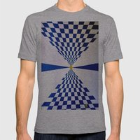 Abstract Art Mens Fitted Tee Athletic Grey SMALL