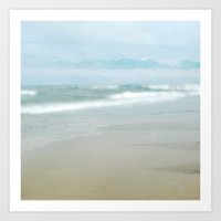 The Ghostly Sea Art Print