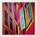 Colors of Vieux Nice Canvas Print