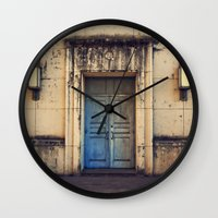 Doors are made to be Open! Wall Clock