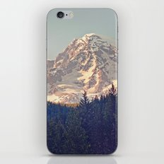 Mount Rainier Retro iPhone & iPod Skin