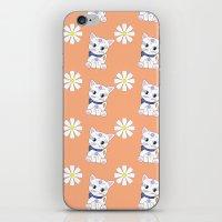 Floral Bella repeat iPhone & iPod Skin